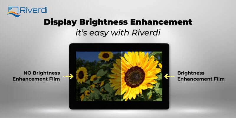 Riverdi display brightness