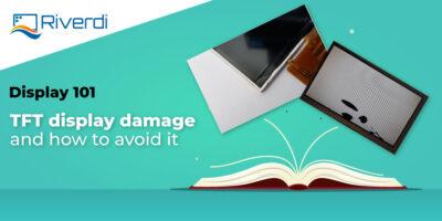 Display 101 TFT damage banner