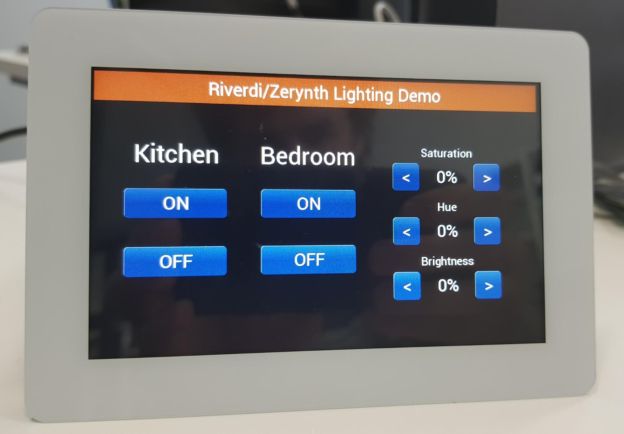 Philips Hue lighting demo - Riverdi
