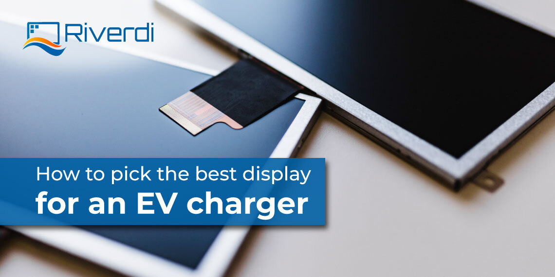 best display for an EV charger