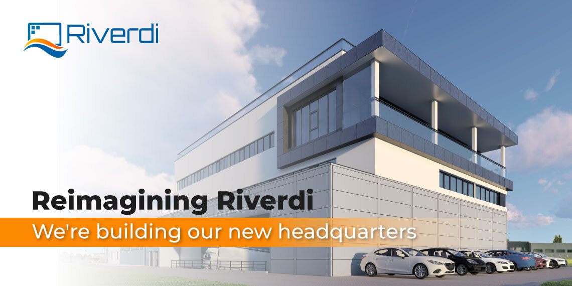 New headquarters Riverdi