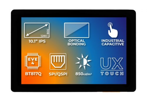 Intelligent Display with Industrial Touch Panel