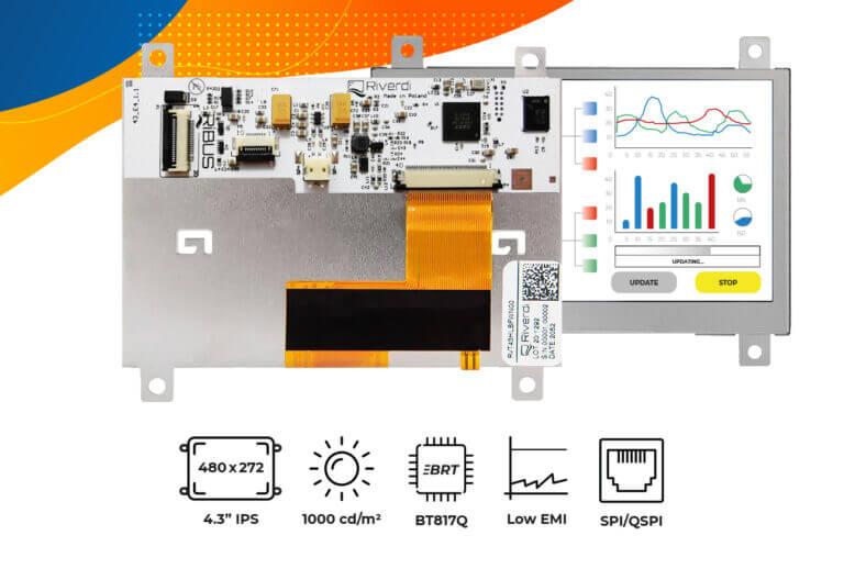 """Eve4 4.3"""" series frame display"""