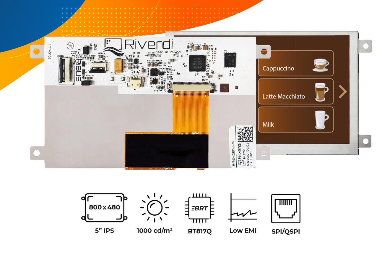 """Eve4 5"""" series frame display"""