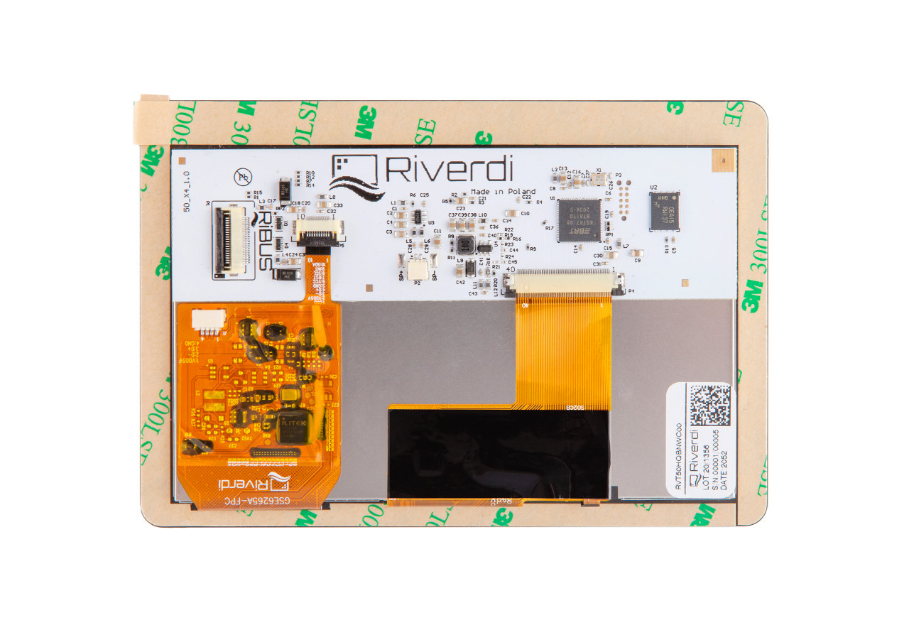 Intelligent display with BT817Q controller