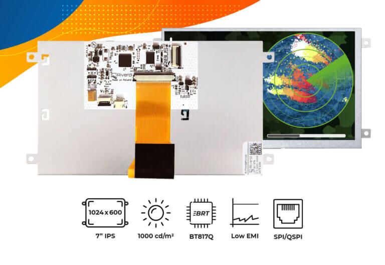 """Eve4 7"""" series frame display"""