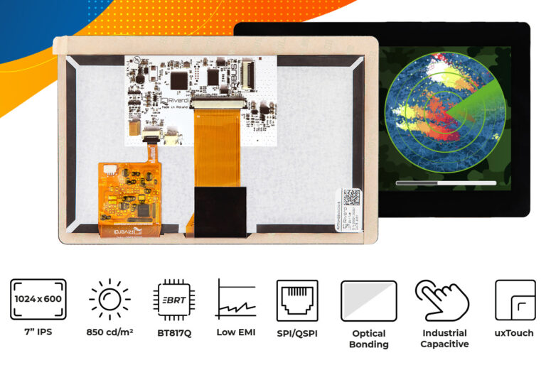 """Eve4 7"""" series touch screen display"""