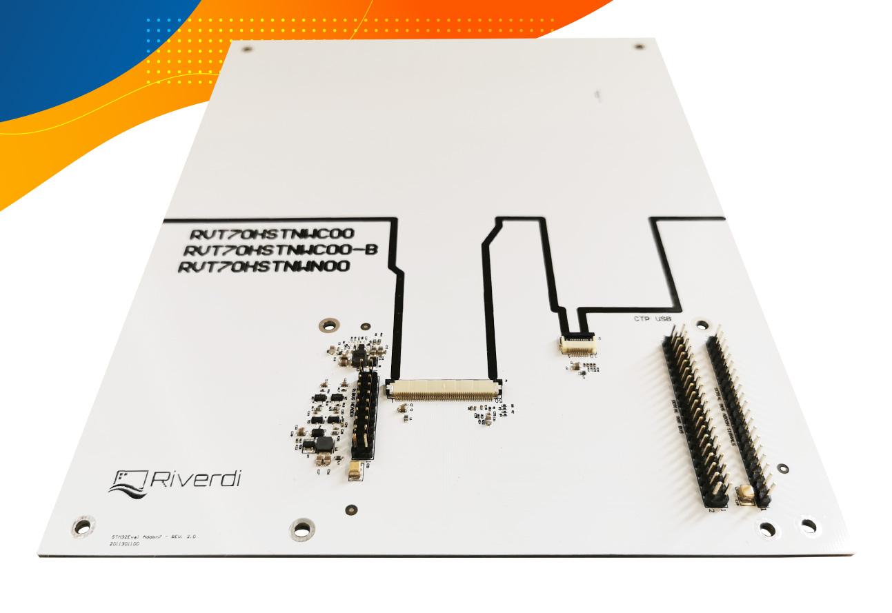 Don Addon 7 RGB board