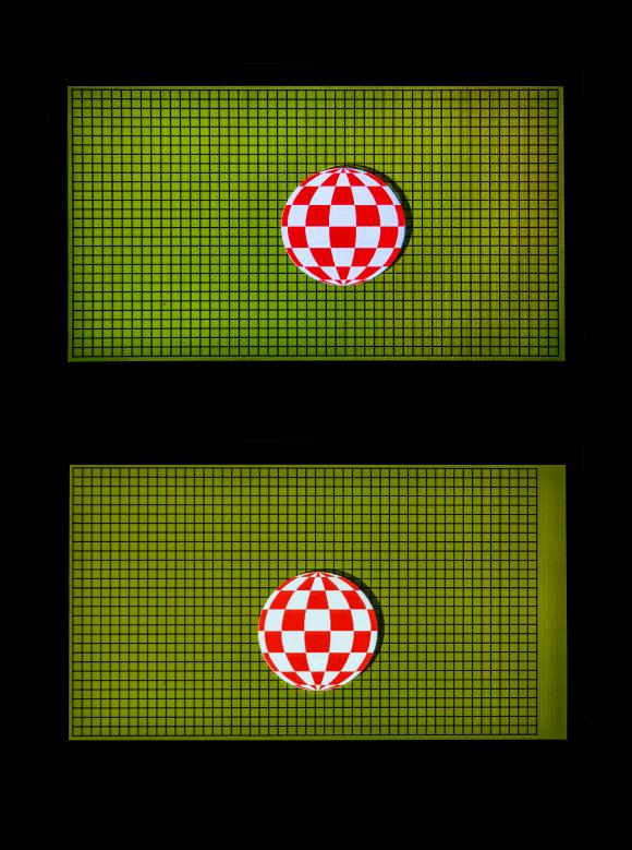 Non square pixel